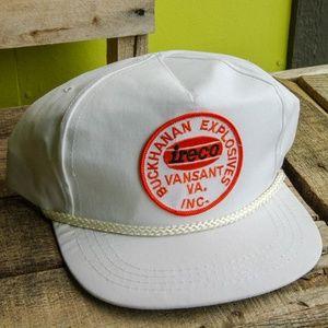 Vintage Buckhanan Explosives Hat